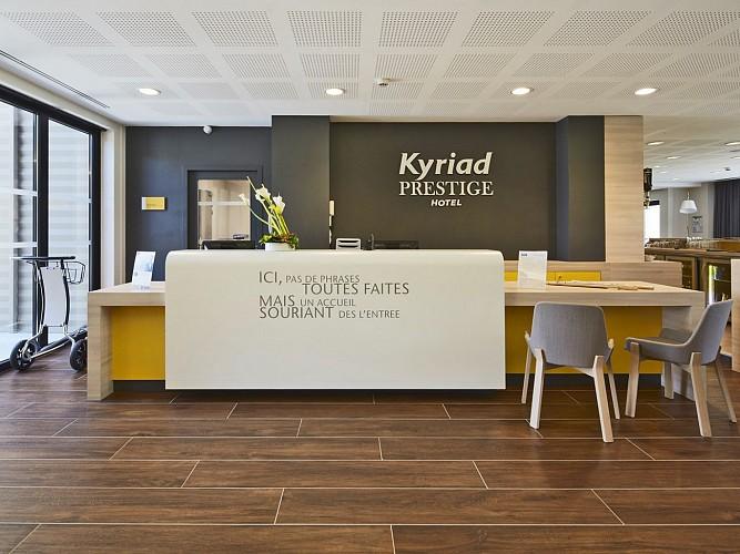 Hôtel Kyriad Prestige - Pau - Réception