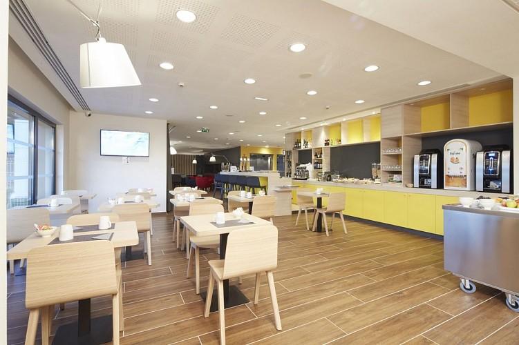 Hôtel Kyriad Prestige - Pau - Salle petit déjeuner