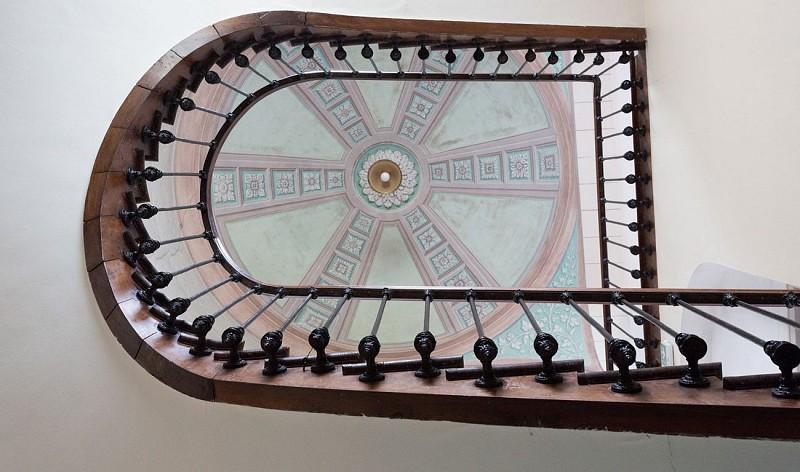 escalier-hotel-agerria