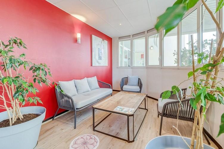 Appart Hôtel Victoria Garden - Pau - Studio double fenêtre