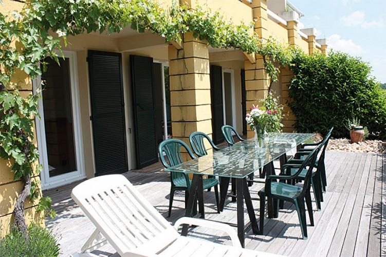 Castelnaud - Les résidences du Golf  - terrasse appartement