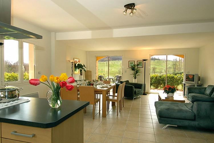 Castelnaud - Les résidences du Golf - intérieur appartement