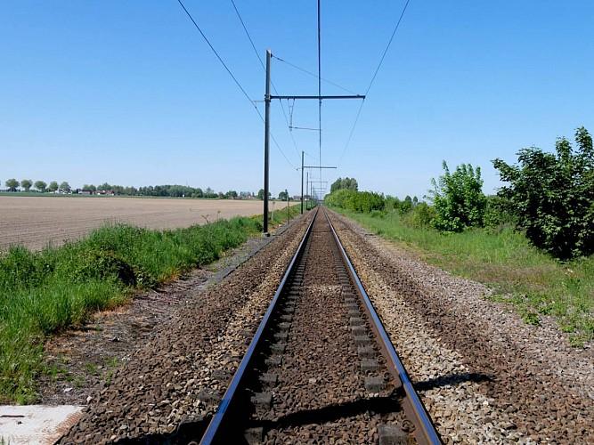 Axe transversal ferroviaire