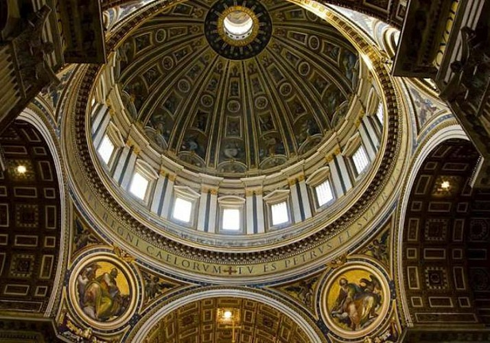 Guided Visit to the Saint Peter's Basilica Cupola - Rome