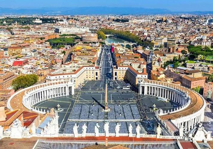 Visite guidée de la coupole de la Basilique Saint Pierre - Coupe-file - Rome