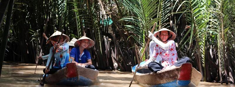 Excursion guidée du delta du Mékong et déjeuner traditionnel - Au départ d'Hô-Chi-Minh-Ville