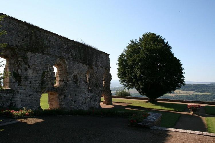 Terrasse de l'ancien château