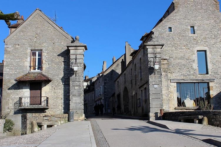 Vézelay, porte du Barle