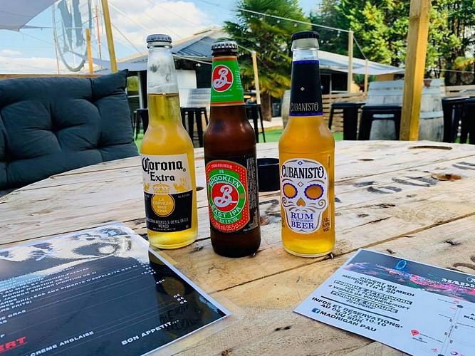 Restaurant Le Madrigan - Pau - bouteilles de bières