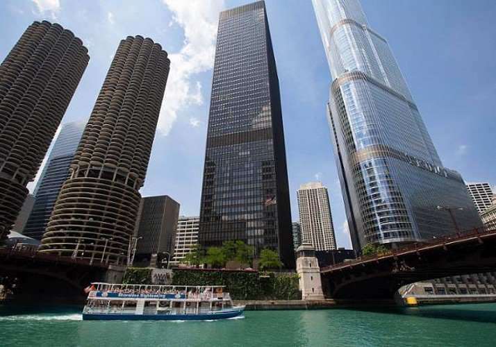 Panoramic Cruise on the Chicago River