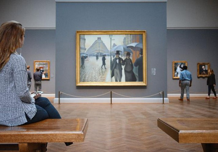 Billet Art Institute of Chicago - Chicago
