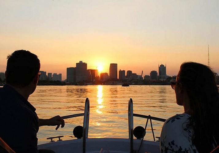 Croisière sur la rivière de Saïgon au coucher du soleil - Hô-Chi-Minh-Ville