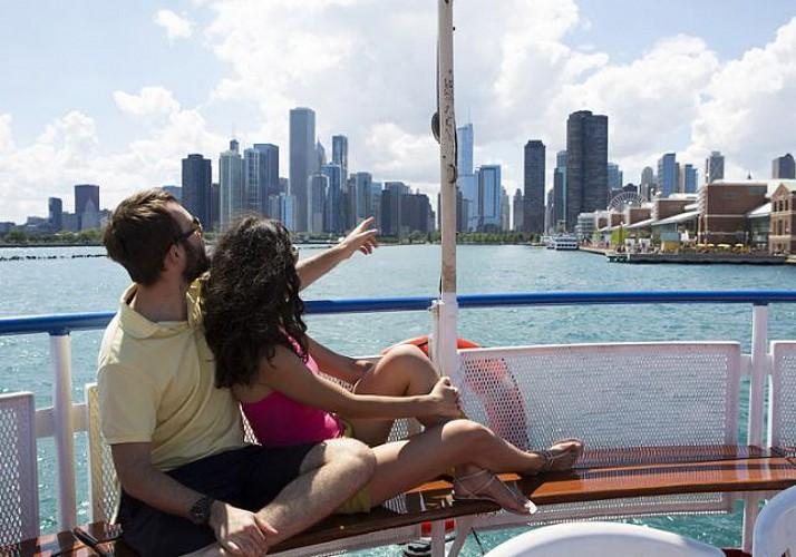 Croisière panoramique sur le Lac Michigan - Au départ de Chicago