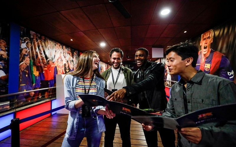 Camp Nou Players Experience Tour