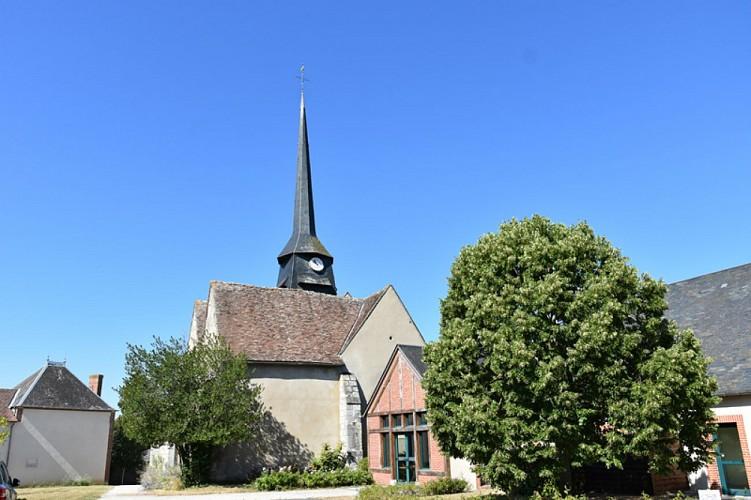 Pierrefitte es Bois - Eglise St Amateur - 6 août 2018 - OT Terres de Loire et Canaux - IRémy   (1)