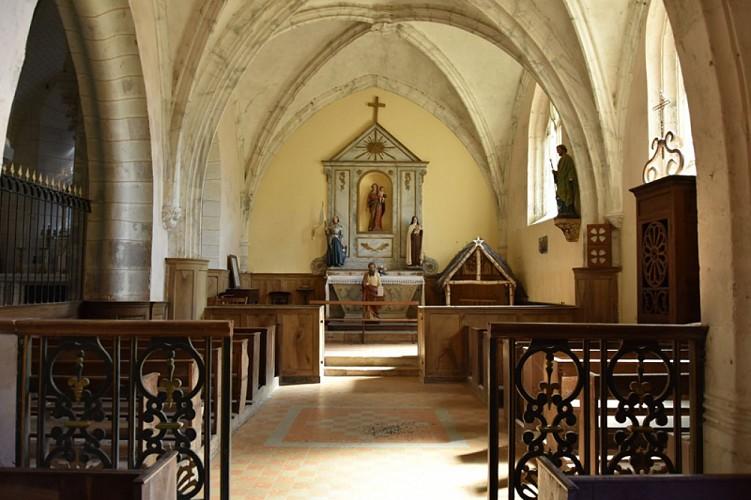 Pierrefitte es Bois - Eglise St Amateur - 6 août 2018 - OT Terres de Loire et Canaux - IRémy   (2)
