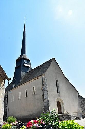 Pierrefitte es Bois - Eglise St Amateur - 26 juillet 2018 - OT Terres de Loire et Canaux - IRémy  (17)