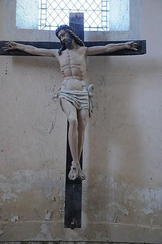 Christ-en-croix---Conservation-departementale-du-Loiret