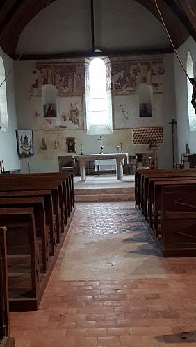 Intérieur de l'église  © Dominique Arbaut