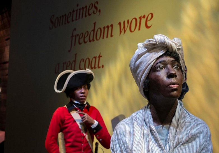 Billet Musée de la Révolution américaine - Philadelphie