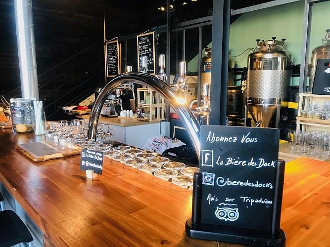 La biere des Dock Biarritz bar