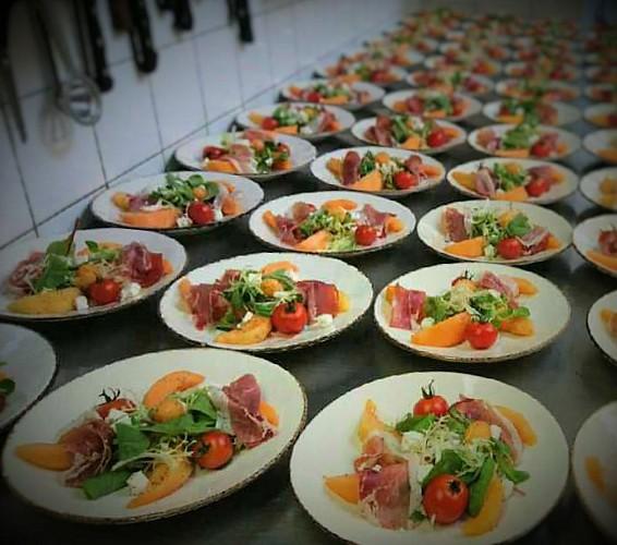 Assiette de Melon & Jambon cru