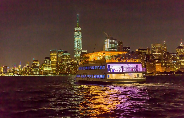 Festive Night Cruise with DJ Onboard - New York