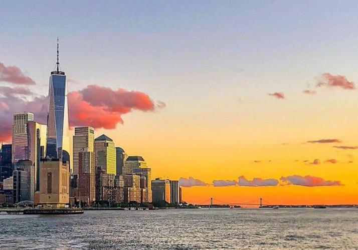 Croisière festive au coucher du soleil avec DJ à bord - New York