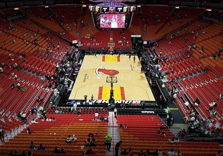 Ticket to a NBA Heat Match at the American Airlines Arena - Miami