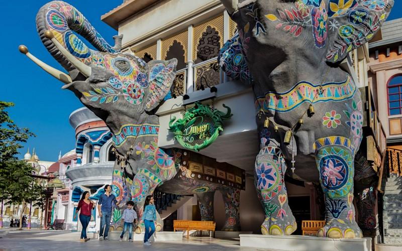Dubai Parks and Resorts: Park Hopper Pass