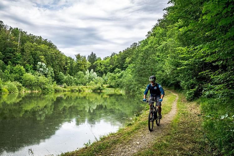 La Crossetaz lake