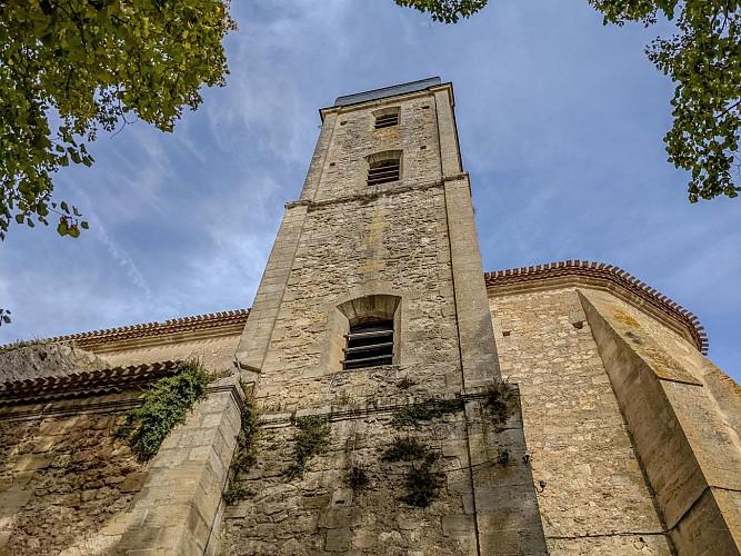 Façade de l'église Saint-Symphorien - Castillon-la-Bataille