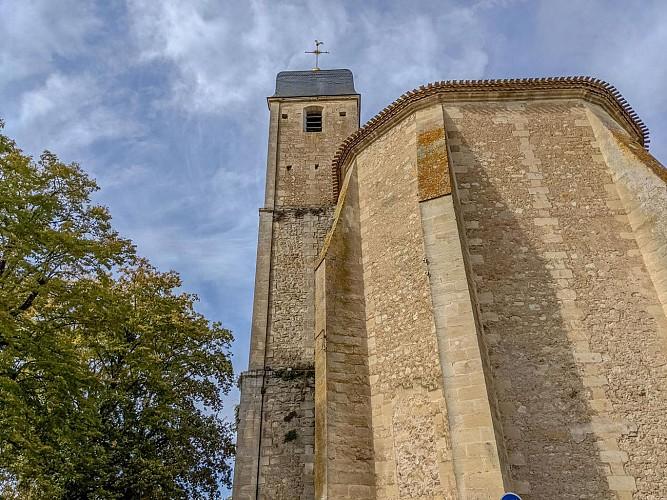 Clocher de l'église Saint-Symphorien - Castillon-la-Bataille