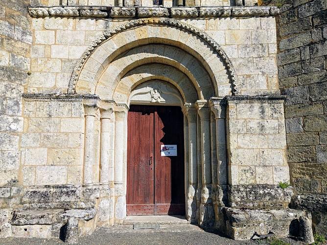 Portail de l'église Sainte-Colombe - Sainte-Colombe