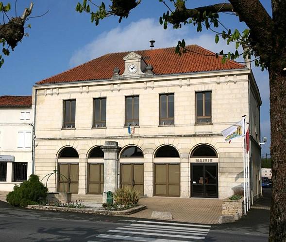 La mairie de Beauvoir-sur-Niort