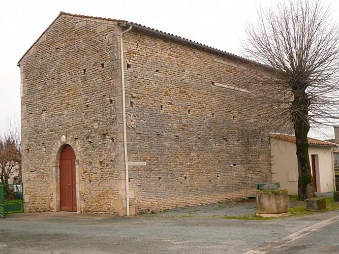 L'ancienne chapelle de Gript