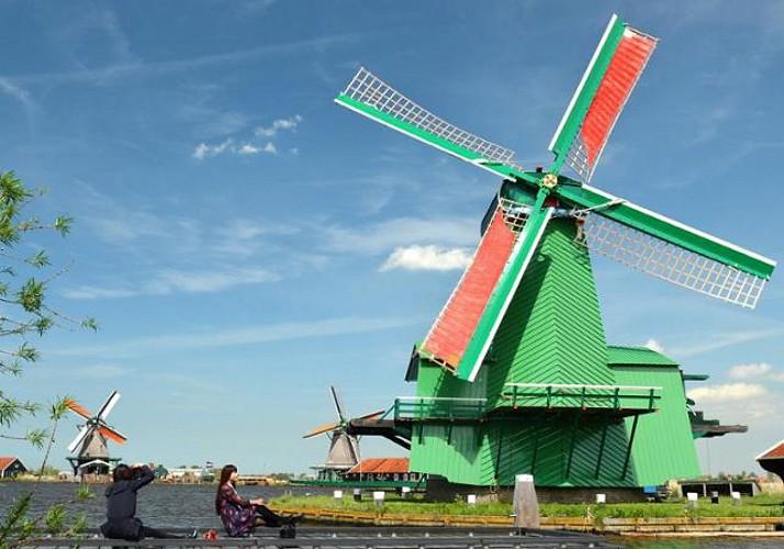 Visite guidée du village de Zaanse Schans - Au départ d'Amsterdam
