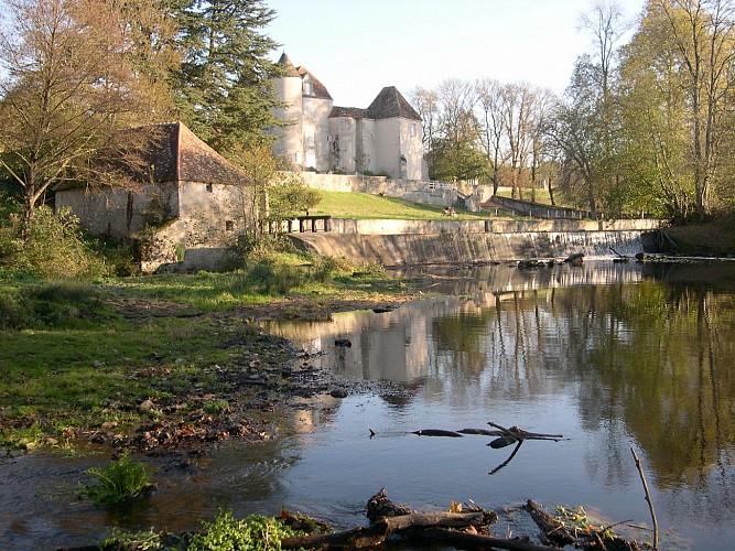 Le château de la Rivière (propriété privée)