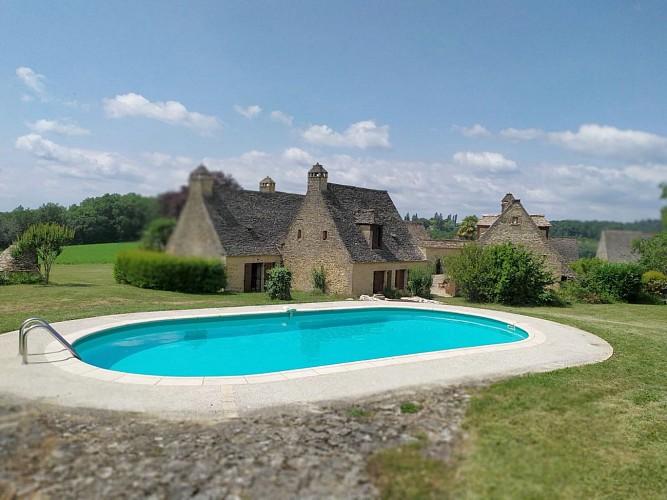 le mas fargette - grand gite 14 pers - piscine privée - tamnies (64)
