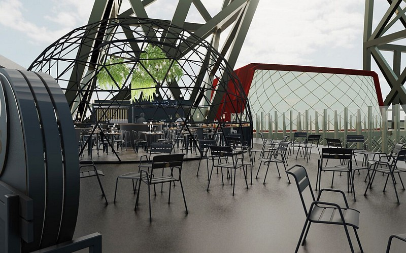 Lunch at the Eiffel Tower with Skip the Line Access
