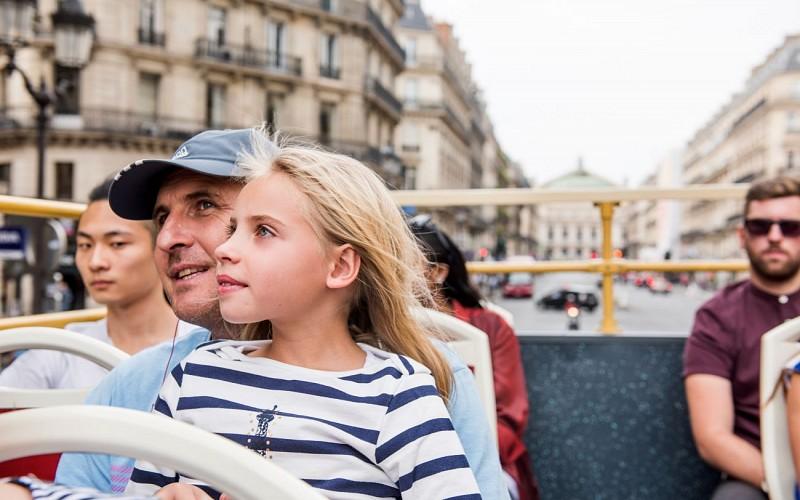 BigBus Paris: 2 Day Hop-On-Hop-Off Tour + Bateaux Parisien Cruise