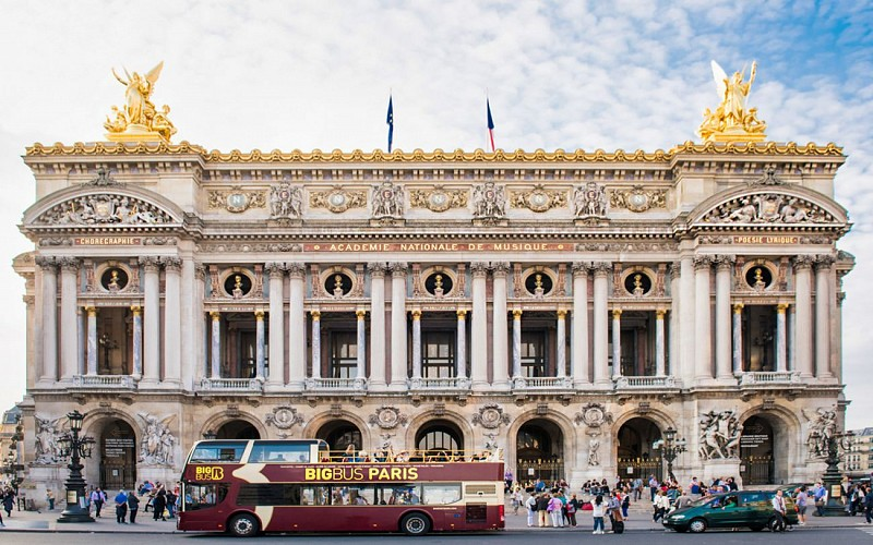 BigBus Paris: Hop-On-Hop-Off Tour + Orsay Museum Tickets