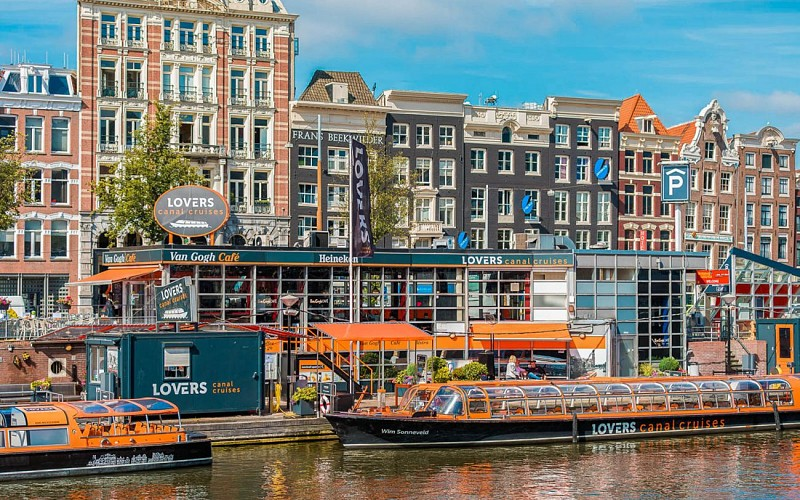 Saver Combo - Blue Boat Company Canal Cruise & Van Gogh Museum Direct Entry
