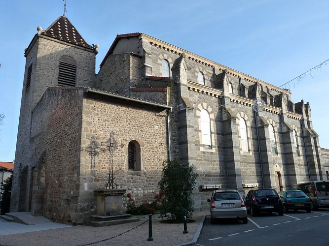 The church in Messimy