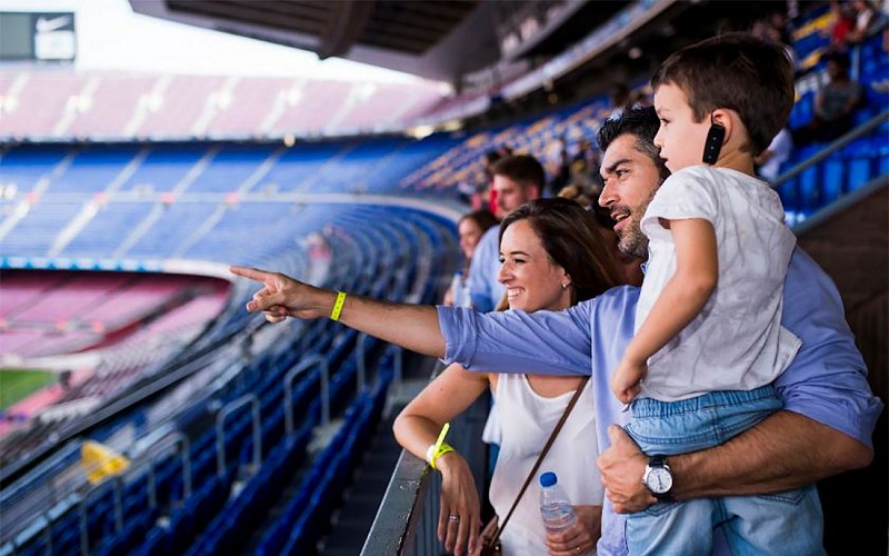 Camp Nou Tour with Interactive Virtual Experience & Multimedia Audioguide - Anytime Entry