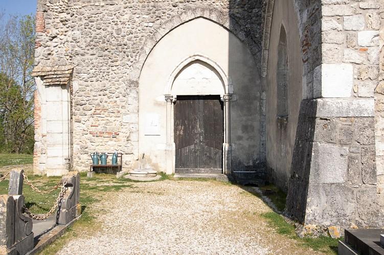 Chapelle Saint-Bartélémy et la Ville Haute de Montluel