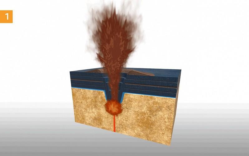 Les volcans peuvent être explosifs