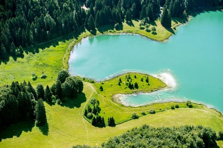 """Lac Genin et ses tourbières, """"ENS"""" de l'Ain"""