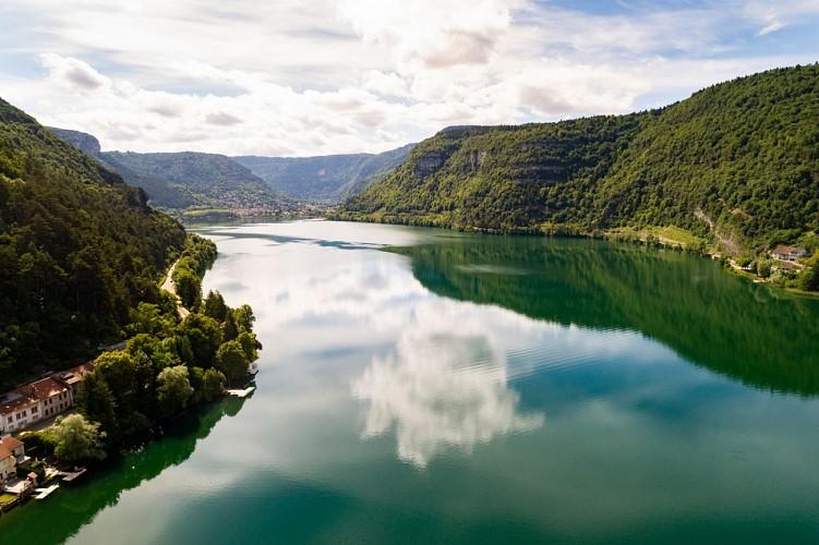"""Lac de Nantua, """"ENS"""" de l'Ain"""