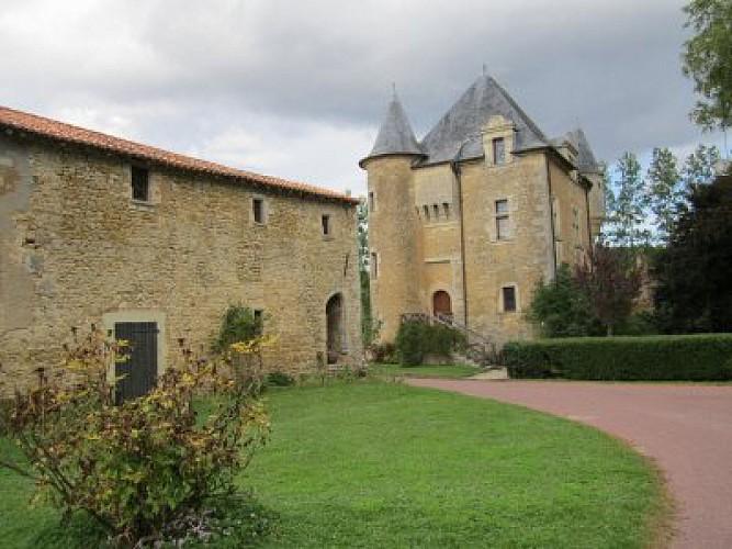 Château de Retournay Marnes Thouarsais